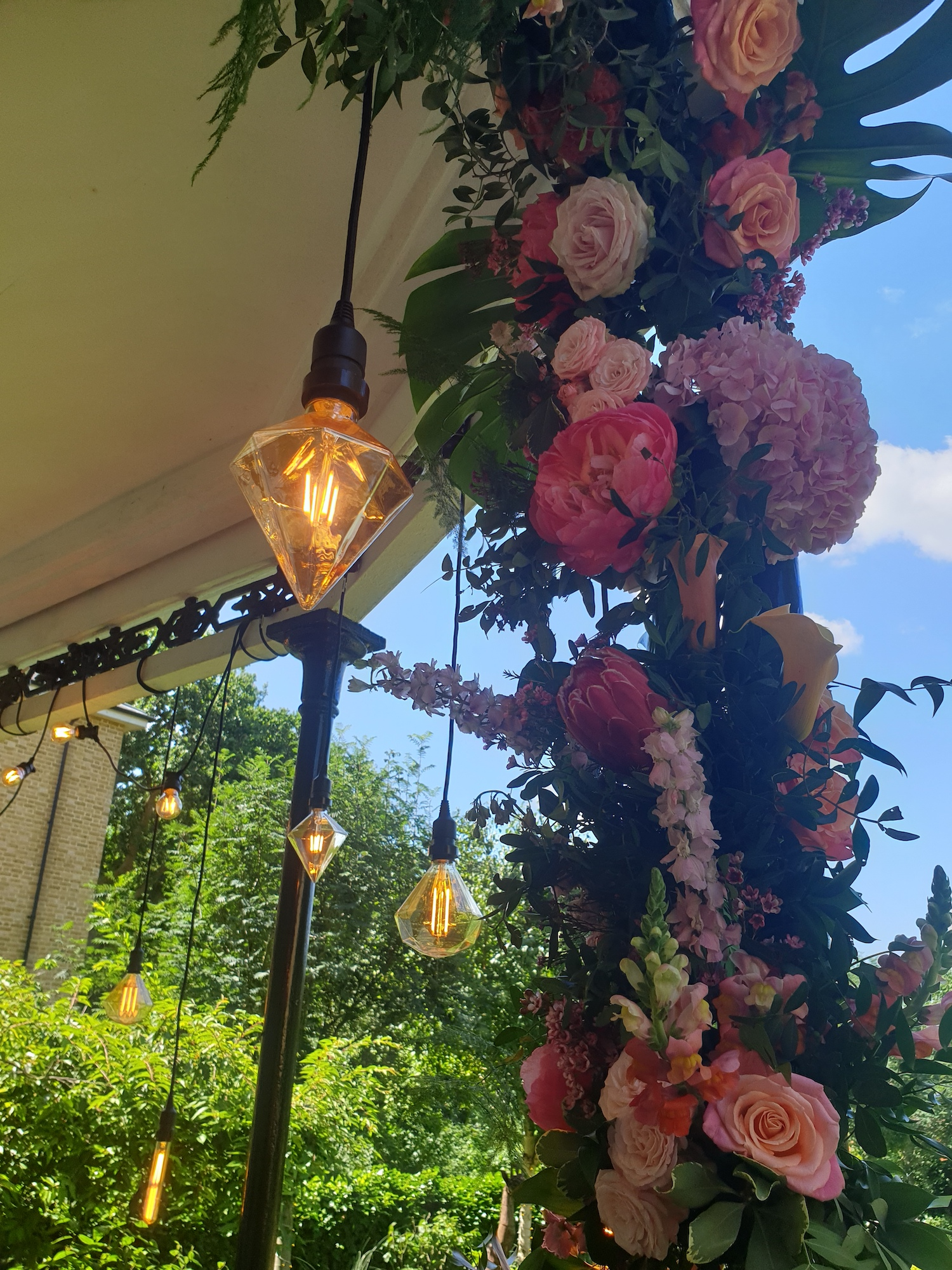 Feature Festoon Lighting London