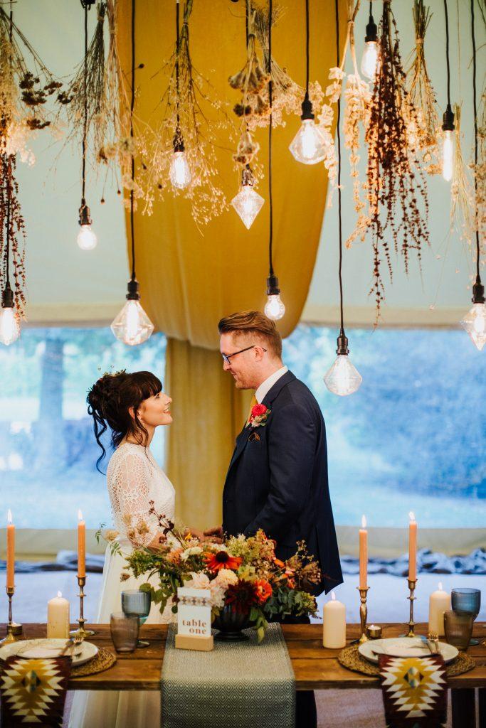 Wedding Lighting Lodge Farm