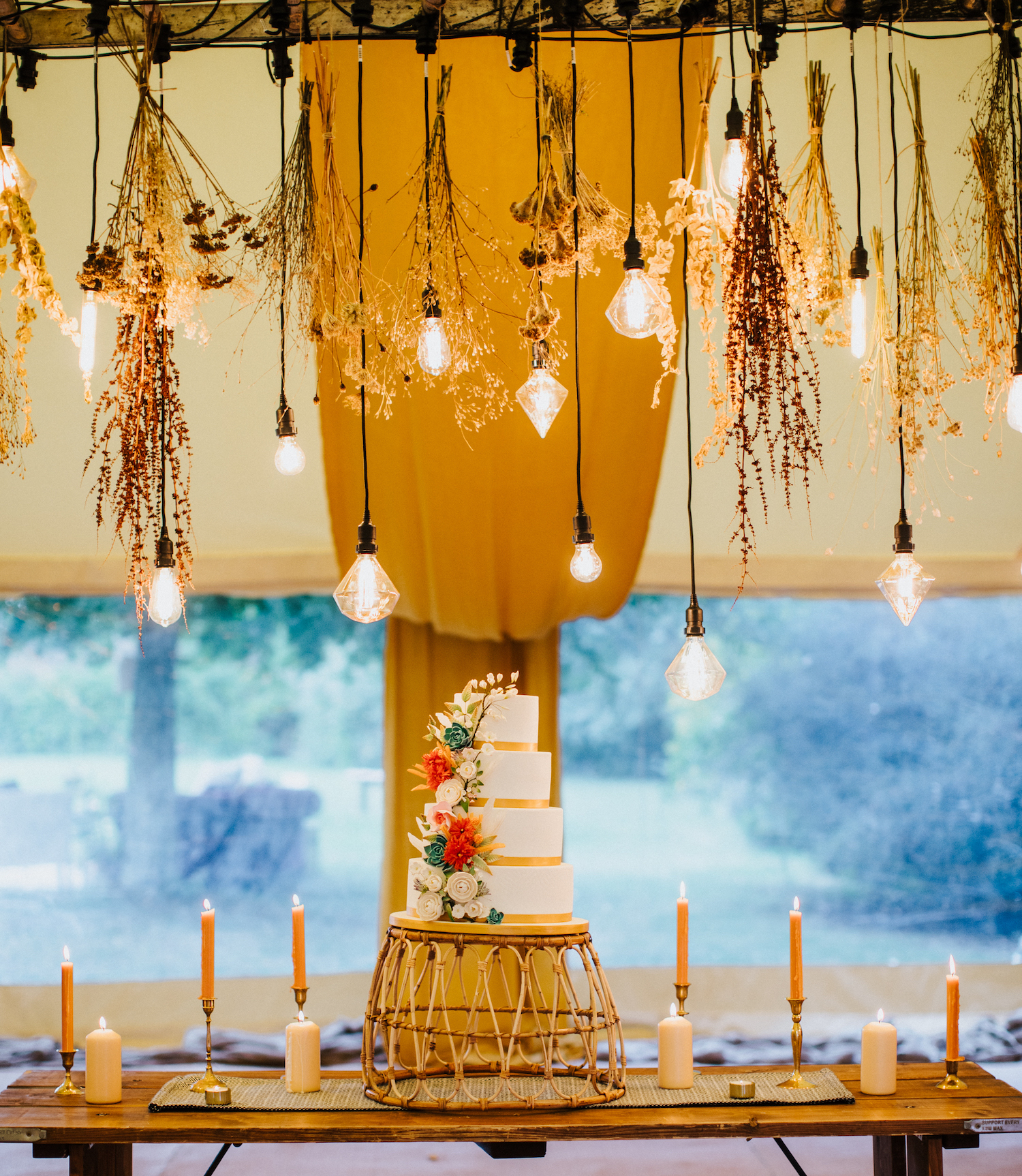 Lodge Farm Festoon Lighting