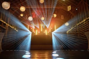 Childerley Barn Cambridge Event Lighting