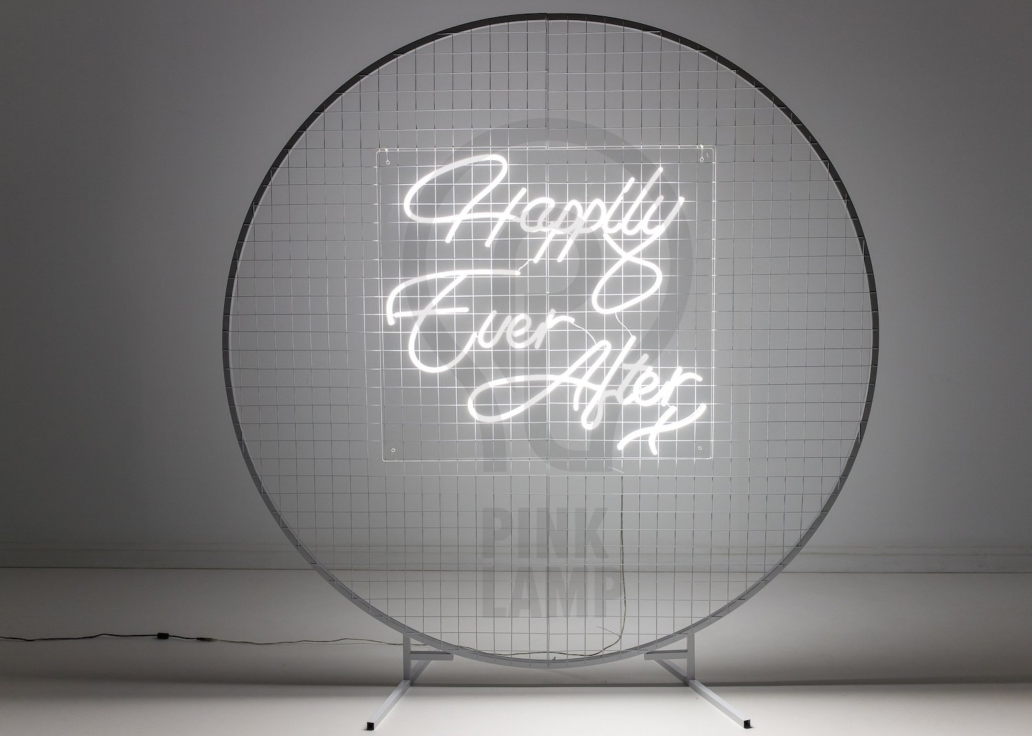 Happily Ever After Neon Sign Hire Cambridge